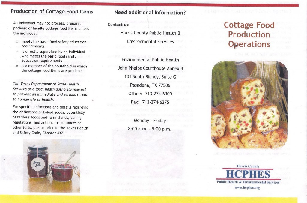 Cottage Food Production Guidlines 1