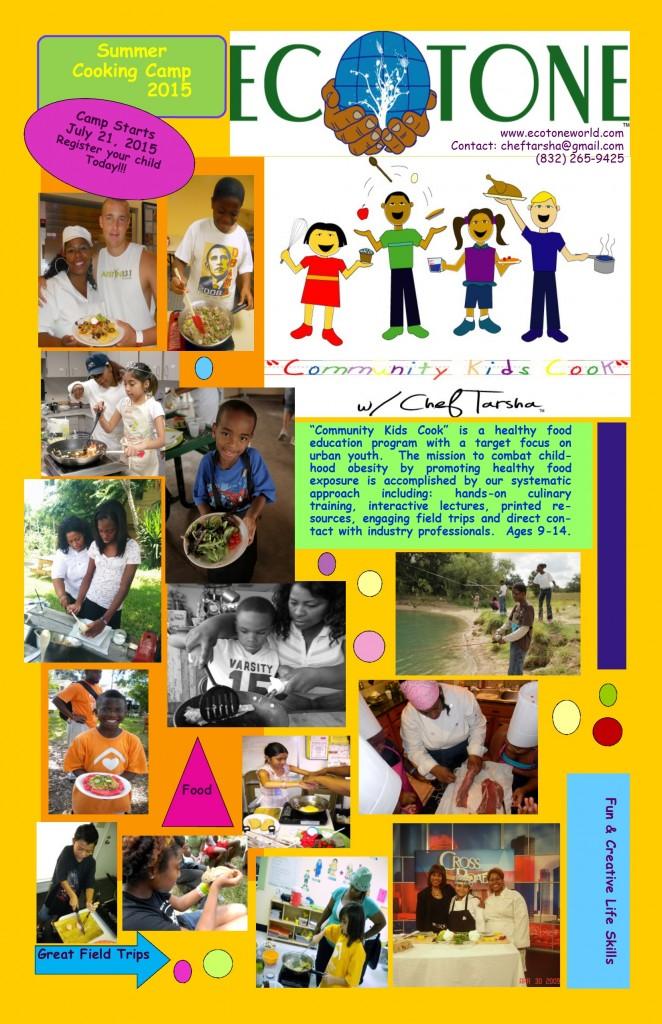 2015 Summer Camp Poster